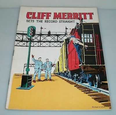 Cliff Merritt Sets The Record Straight 1955 Edition BORT Giveaway