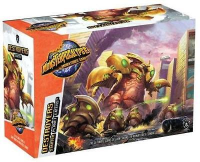 Privateer Monsterpocalypse Destroyers Starter Set Box MINT