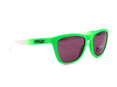 d63f2df7c3d oo9013-99 Oakley Sunglasses Frogskins Green Fade Prizm Daily Polarized
