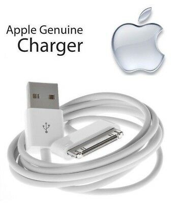 100% Original Apple iPod Classic - 30 Pin to USB Cable Charger (1m/3ft) MA591G/C