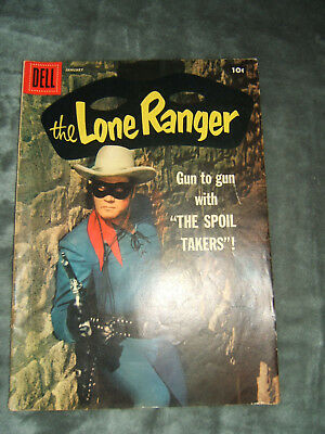 Vintage The Lone Ranger # 115 Dell Classic Golden Age Comic Book January 1958