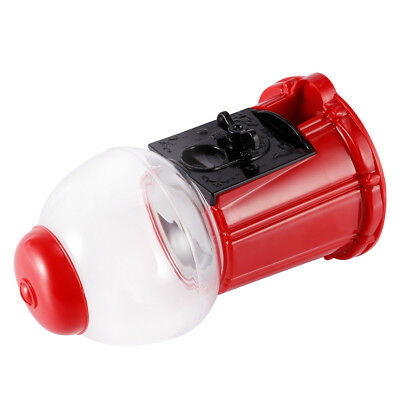 Mini Gumball Dispenser Machine Toy Bubble Gum Party Bag Coin Operated - Red