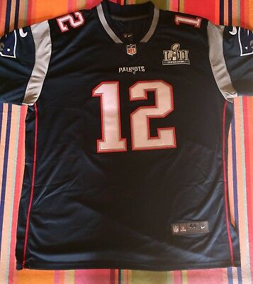 Maillot NFL Patriots Brady Taille L