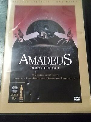 AMADEUS DVD director's cut 2 dischi COME NUOVO Milos Forman no editoriale