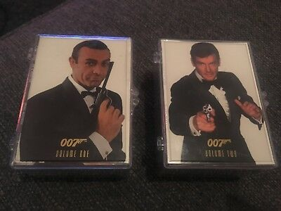 James Bond 007 Series 1 & Series 2 trading cards in a Sealed plastic box 1996