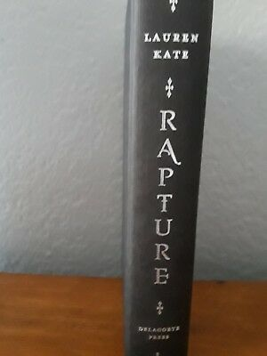 Rapture Bk. 4 by Lauren Kate,Signed, First Edition (2012, Hardcover)
