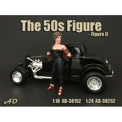 """1/24 scale NEW - Figure #2 from  American Diorama new """"50's Figures AD-38252"""