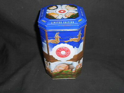 "Lifesavers 1995 Limited Edition Holiday Tin  7.25"" x 4.25"""