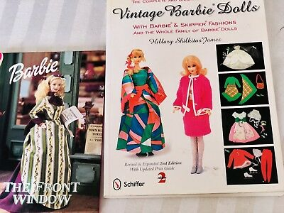 Vintage Barbie Dolls Collector Book-listing Earliest Styles