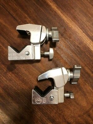 manfrotto clamp Art .035- set of two