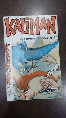 Kaliman Free Shipment Comic In Spanish Vintage  , Very Hard To Find , Num 48