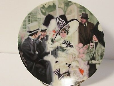 Knowles My Fair Lady Plate No. 3332A Opening Day At Ascot COA Vintage 1989