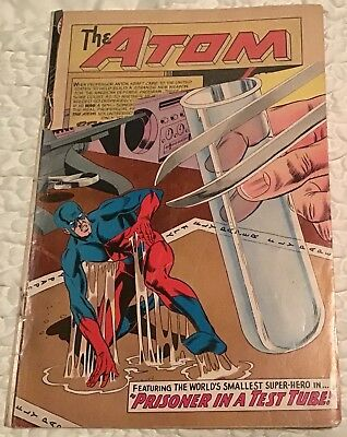 ShOWcAse # 36 1962 2nD APPEARANCE of SilVeR AGE AtOm Dc COmiCS