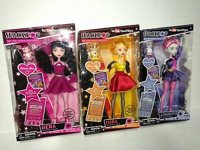 Spacepop Princesses Hera, Luna and Athena New Madame Alexander Dolls