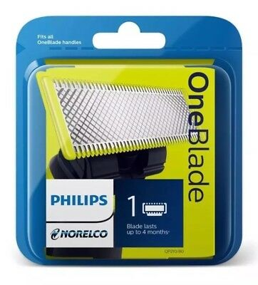 Philips Norelco Oneblade Replacement Blade Qp210 For Trimmer / Shaver Qp2520 New