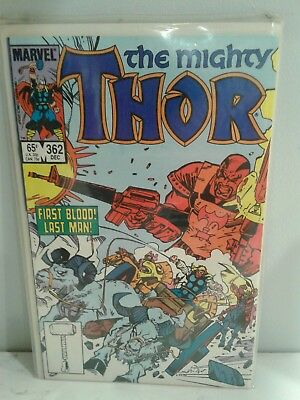 THE MIGHTY THOR #362 (Dec 1985, Marvel)