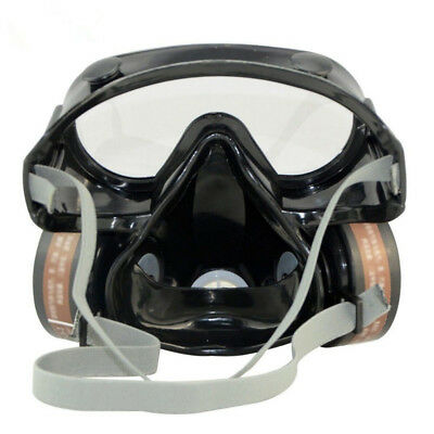Safety Gas Mask Respirator Chemical Anti-Dust Filter Popular Fashion Brand New