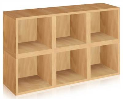 Modular Storage Cube in Natural - Set of 6 [ID 133033]