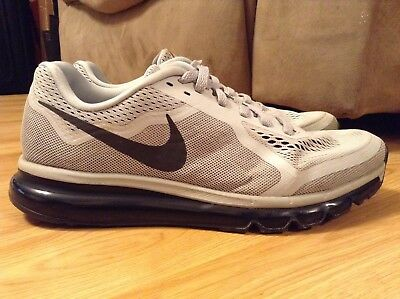 374fc0ed77 Mens Nike Air Max 2014 Wolf Gray Running Shoes 621077-020 Size 11.5