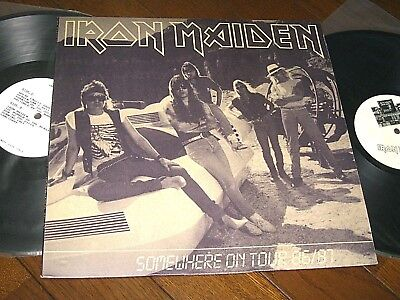 Iron Maiden Somewhere On Tour 86/87 Live In London 11 1986 Japan Collectors 2 Lp