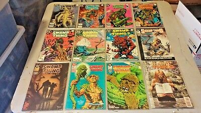 Swamp Thing 12 Issue Lot 1985 -1993