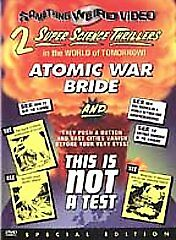 Atomic War Bride/This Is Not a Test (DVD, 2002, Special Edition)