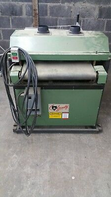 """GrizzlyG1066 24"""" Drum Sander, with a Heavy Duty Mobile Base"""