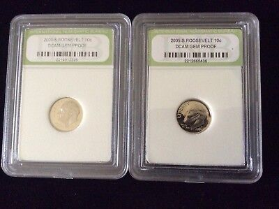 USA🇺🇸 Roosevelt Dime 10c Proof Coins