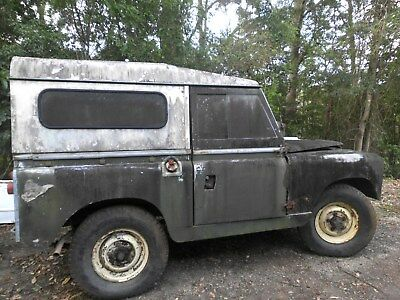 Landrover series 2a Parts project.
