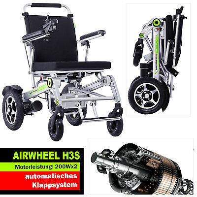 Airwheel H3s Electric Wheelchair Light Foldable, 33Kg, Handy as Remote Control