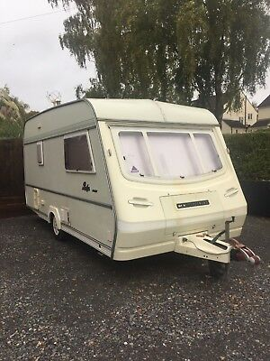 Compass Rallye GTE 4 birth caravan large awning inc all accessories ready to go