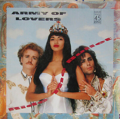 "Army of Lovers -Ride the Bullet 3-trk 12"" Maxi"