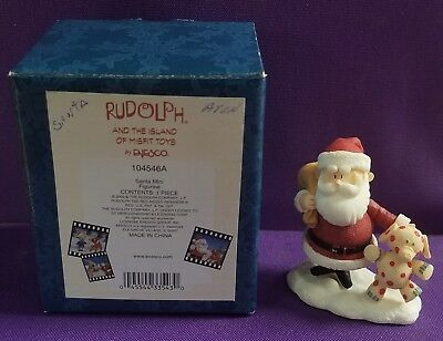 Enesco Santa Claus Figure Figurine Rudolph and The Island of Misfit Toys 104546