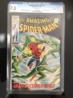 The Amazing Spider-Man #71, 4/69, CGC 7.5