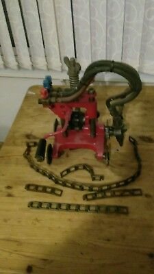Oxy-Acetylene pipe cutter with chains