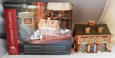 Little Women The March Residence Department 56 Literary Classics Original Box