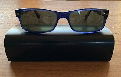 PERSOL SUNGLASSES 9649 105251 Madreterra Tortoise Clear Gradient ... 96278190f8be