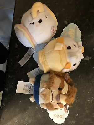 Ufufy Chip, The Beast & Candle New With Tags