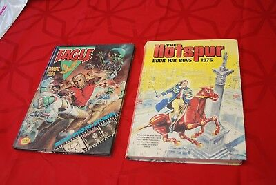 The Hotspur 1976 & The Eagle 1984 Annuals Very Collectable