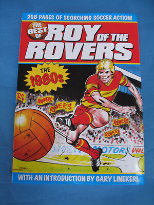 THE BEST OF ROY OF THE ROVERS  THE 1980s   TITAN  PB  + EXTRAS