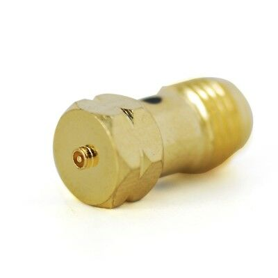 SMA female jack to IPX U.fl male plug center RF adapter connector Gold Plated
