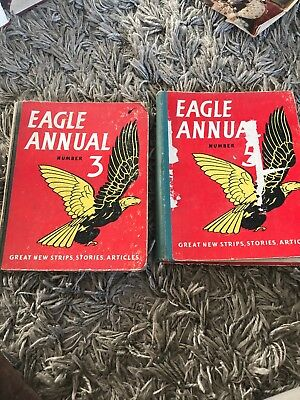 Eagle Annual number 3 & 5 published by Hulton Press in London