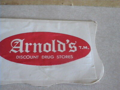 Arnold's Discount Drug Store Advertising Needle Package Made in Japan