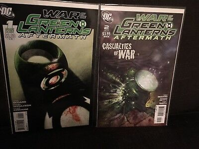 War Of The Green Lanterns Aftermath 1 And 2 NM