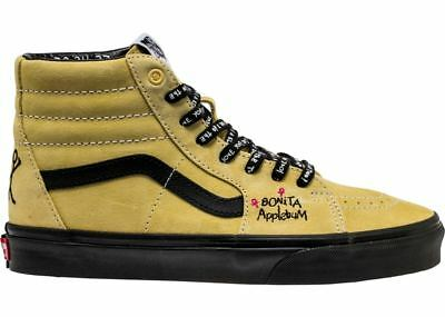 VANS SK8 HI A Tribe Called Quest Pack ATCQ Bonita Applebum Yellow ... 2a16bc596