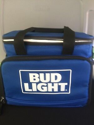 Bud Light Cooler Soft Pack Insulated Lunch Beer Foldable
