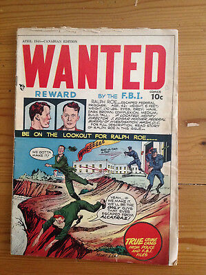 Hillman Wanted # 12 Canadian Mort Leave, Mort Lawrence RARE