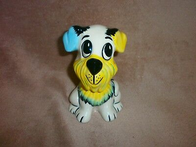 "LORNA BAILEY WOOF WOOF THE DOG 5"" TALL Good condition signed on the base"