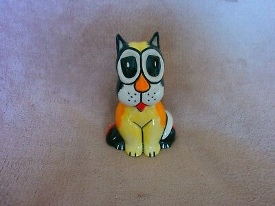 "Lorna Bailey Clifford The Cat 5.25"" Tall Part Of The Kitty Katz Range"