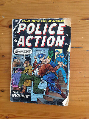 Timely Police Action #5 Joe Maneely, Dick Ayers, Ed Robbins LOW